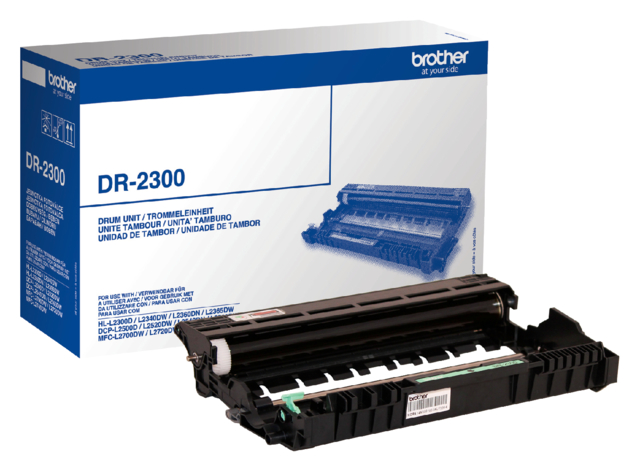 DRUM BROTHER DR-2300 ZWART