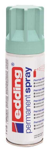 ACRYLLAK EDDING 5200 PERMANENT SPRAY MAT MINT
