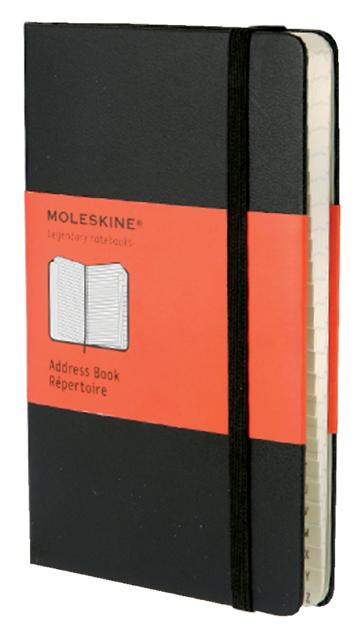 ADRESBOEK MOLESKINE LARGE